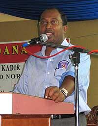 Perak Chief Minister Zambry Abdul Qadir