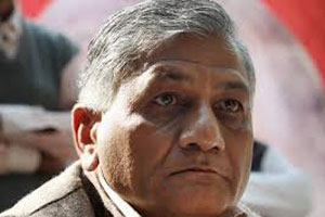 Chief Gen V K Singh