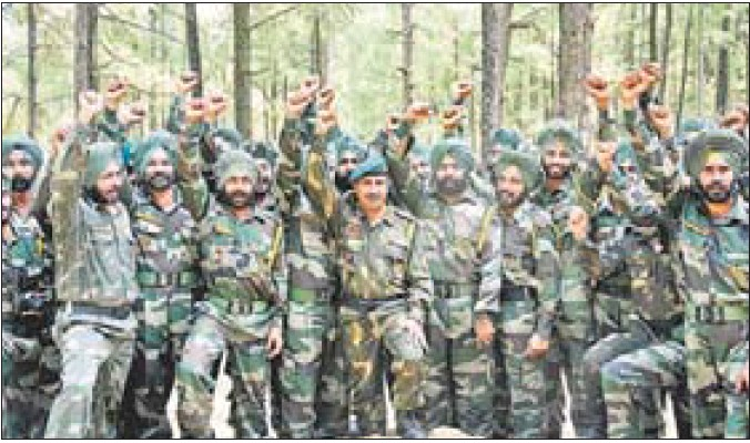 Sikh Regiment's passion for excellence