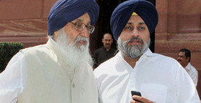 A Sikh group has challenged the dismissal of human rights violation case against the Punjab CM Parkash Singh Badal.