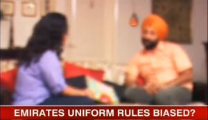 emirates sikh pilot