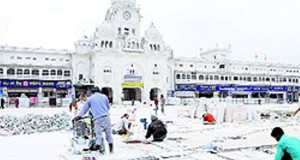 Golden Temple plaza to open soon