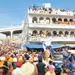 Gathering: The conference venue is close to the gurdwara where lakhs of Sikhs gather during Hola Mohalla which takes place in mid-March