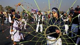 Girls' gatka prowess on display