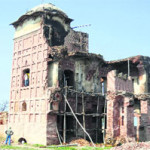 Restoration of Jhaji Haveli moves at snail's pace