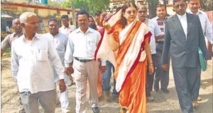 Maneka Gandhi is the BJP candidate from Pilibhit (Uttar Pradesh). The Congress is out to break into her stronghold.