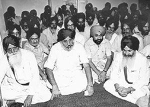 From Left to Right: Tohra, Badal, Ramowalia and Longowal.