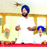 Baldev Singh Brar and other trustees of Gurdwara Buddha Johad address mediapersons at Sriganganaga