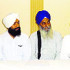 Sikh leaders address mediapersons at Sriganganagar on Wednesday.