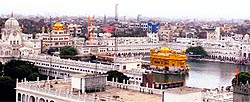 A file photograph of the Golden Temple.