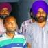 Accused Kamal Verma of Muzaffarnagar (left) in police custody in Amritsar