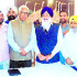 SGPC delegation meets J&K Governor NN Vohra (fourth from right) in Srinagar.