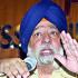 Former DSGMC president Paramjit Singh Sarna addresses a press conference at Press Club of India in New Delhi