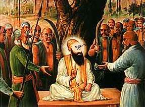 Shaheedi of Guru Sahib