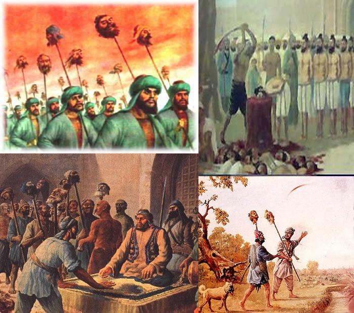 mughals_killing_Sikhs